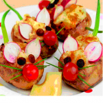 Receta sana: Patatas ratón
